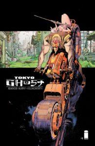 کاور شماره ۱ کمیک Tokyo Ghost (برای دیدن سایز کامل روی تصویر کلیک کنید)