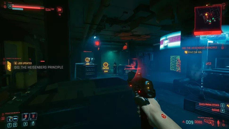 ایستر اگهایی در Cyberpunk 2077 که نباید از دست بدهید - ایستر اگ برکینگ بد