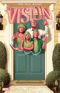 کاور شماره ۱ کمیک The Vision (برای دیدن سایز کامل روی تصویر کلیک کنید)
