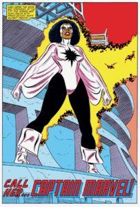 اولین قهرمان مونثِ سیاهپوست اونجرز؛ مونیکا رمبو (برای دیدن سایز کامل روی تصویر کلیک کنید)
