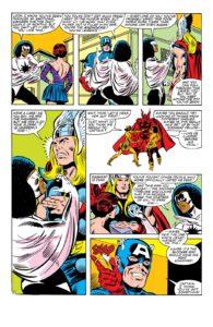 مونیکا رمبو در شماره ۲۲۹ کمیک Avengers (برای دیدن سایز کامل روی تصویر کلیک کنید)