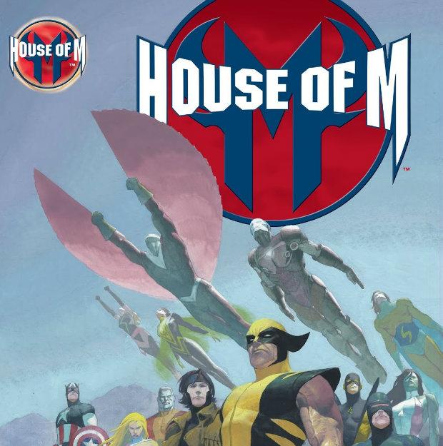کاور شماره ۱ کمیک House Of M
