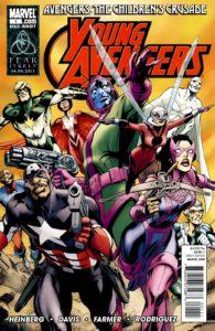 کاور کمیک Young Avengers: The Children's Crusade (برای دیدن سایز کامل روی تصویر کلیک کنید)
