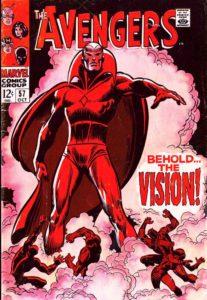 کاور شماره ۵۷ کمیک Avengers (برای دیدن سایز کامل روی تصویر کلیک کنید)