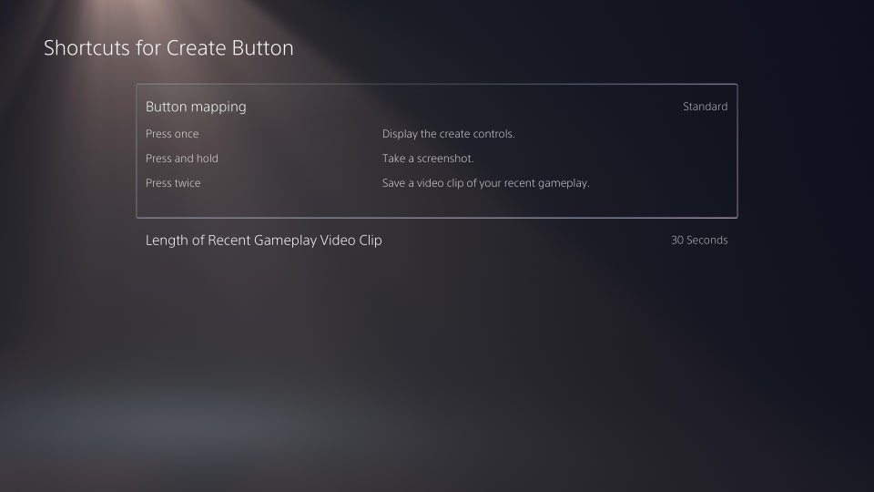 برای کپچر کردن دکمه میانبر بسازید
