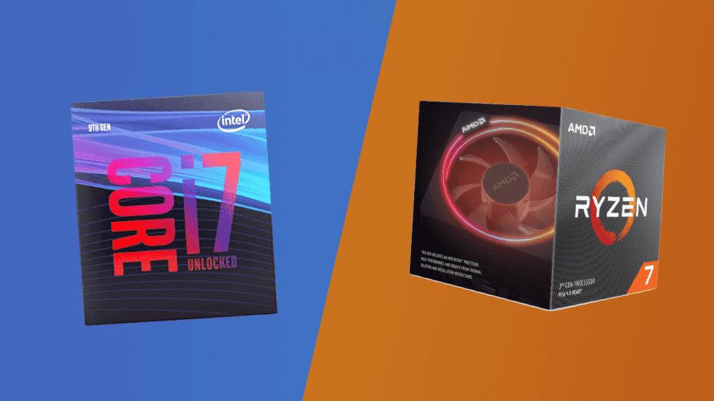 intel core i7-9700k vs amd ryzen 7 3700x