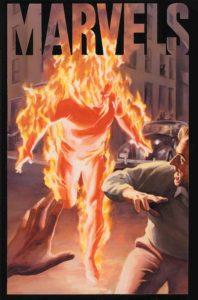 کاور شماره ۱ کمیک Marvels (برای دیدن سایز کامل روی تصویر کلیک کنید)