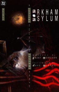 کاور کمیک Arkham Asylum: A Serious House on Serious Earth (برای دیدن سایز کامل روی تصویر کلیک کنید)