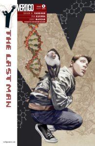 کاور شماره ۱ کمیک Y: The Last Man (برای دیدن سایز کامل روی تصویر کلیک کنید)