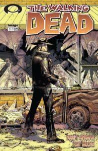 کاور شماره ۱ کمیک The Walking Dead (برای دیدن سایز کامل روی تصویر کلیک کنید)