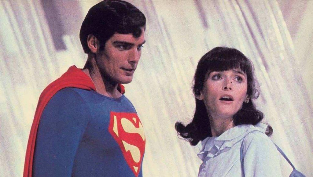 سوپرمن و لوئیس لین در فیلم Superman: The Movie