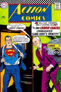 کاور شماره ۳۴۵ کمیک Action Comics (برای دیدن سایز کامل روی تصویر کلیک کنید)