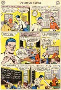 وقتی کلارک کنت جوان هویت خودش را لو میدهد (برای دیدن سایز کامل روی تصویر کلیک کنید)