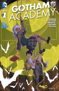 کاور شماره ۱ کمیک Gotham Academy (برای دیدن سایز کامل روی تصویر کلیک کنید)