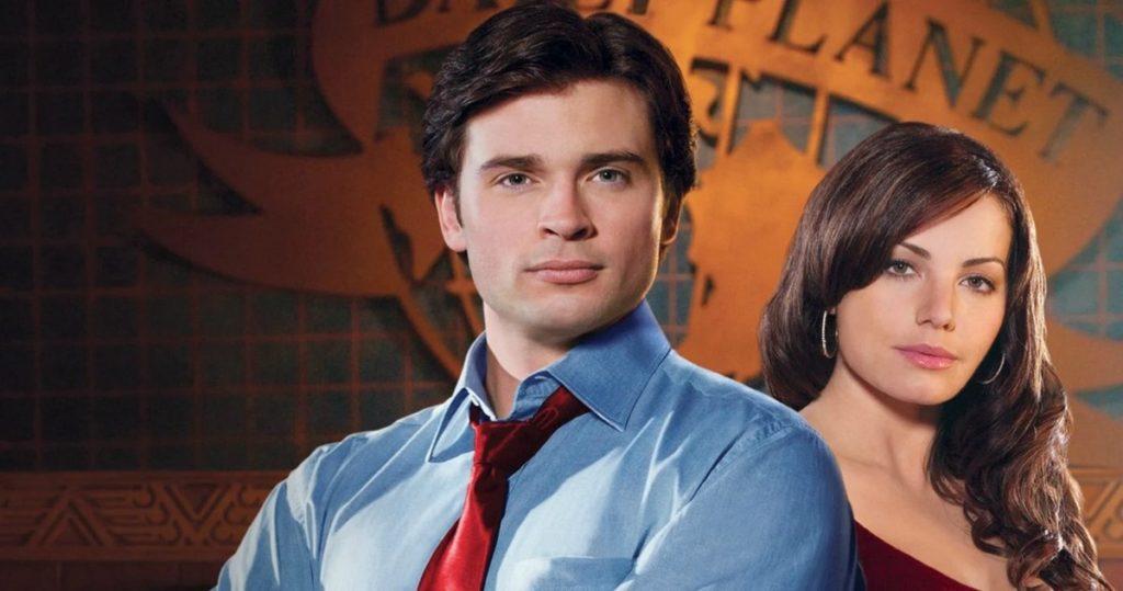 سوپرمن و لوئیس لین در سریال Smallville