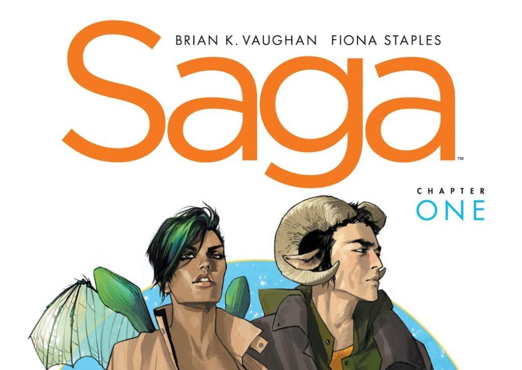 کاور شماره ۱ کمیک Saga