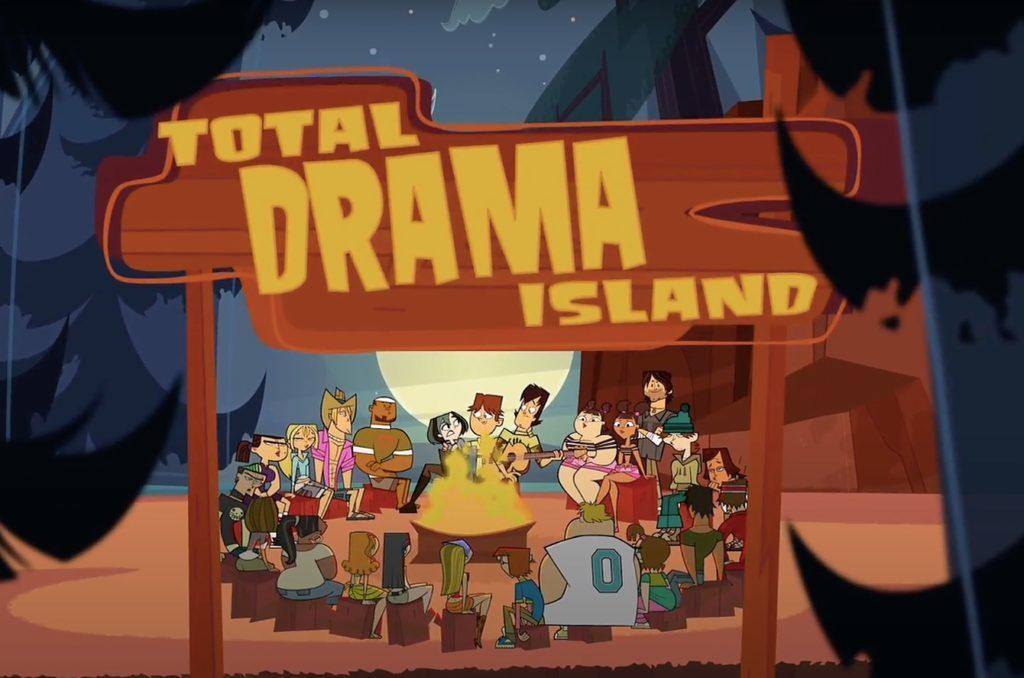 کارتون Total Drama Island