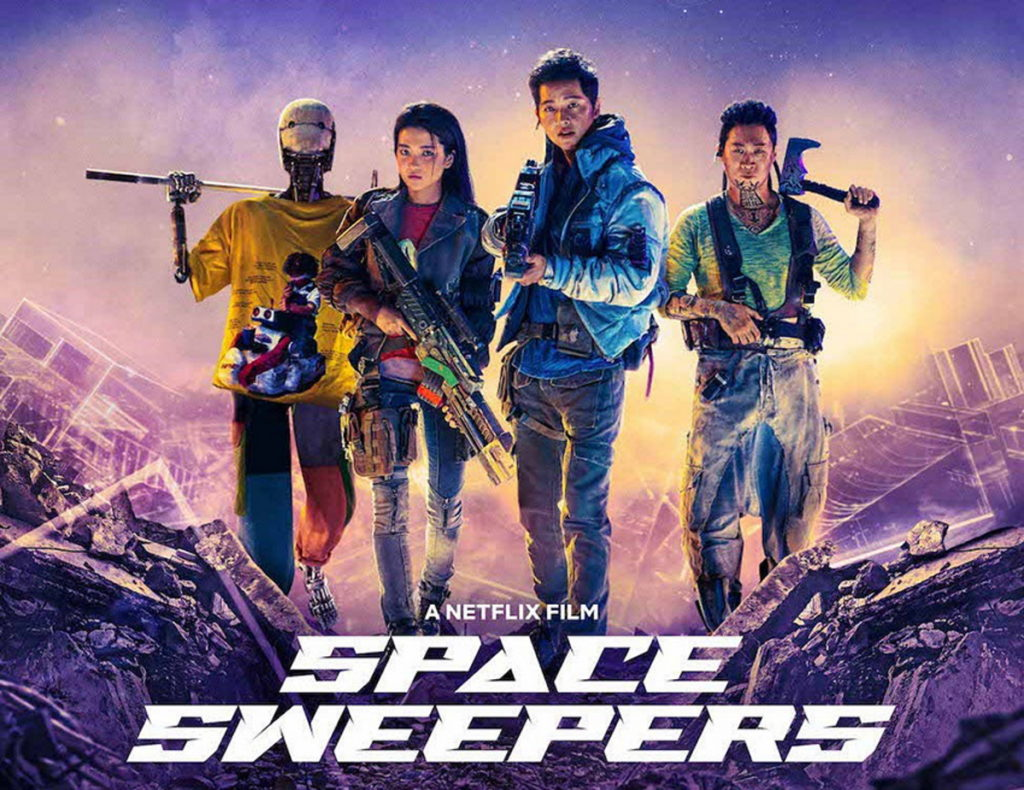 نقد فیلم Space Sweepers