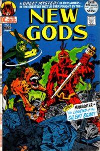 استپنولف روی کاور شماره ۷ کمیک New Gods (برای دیدن سایز کامل روی تصویر کلیک کنید)