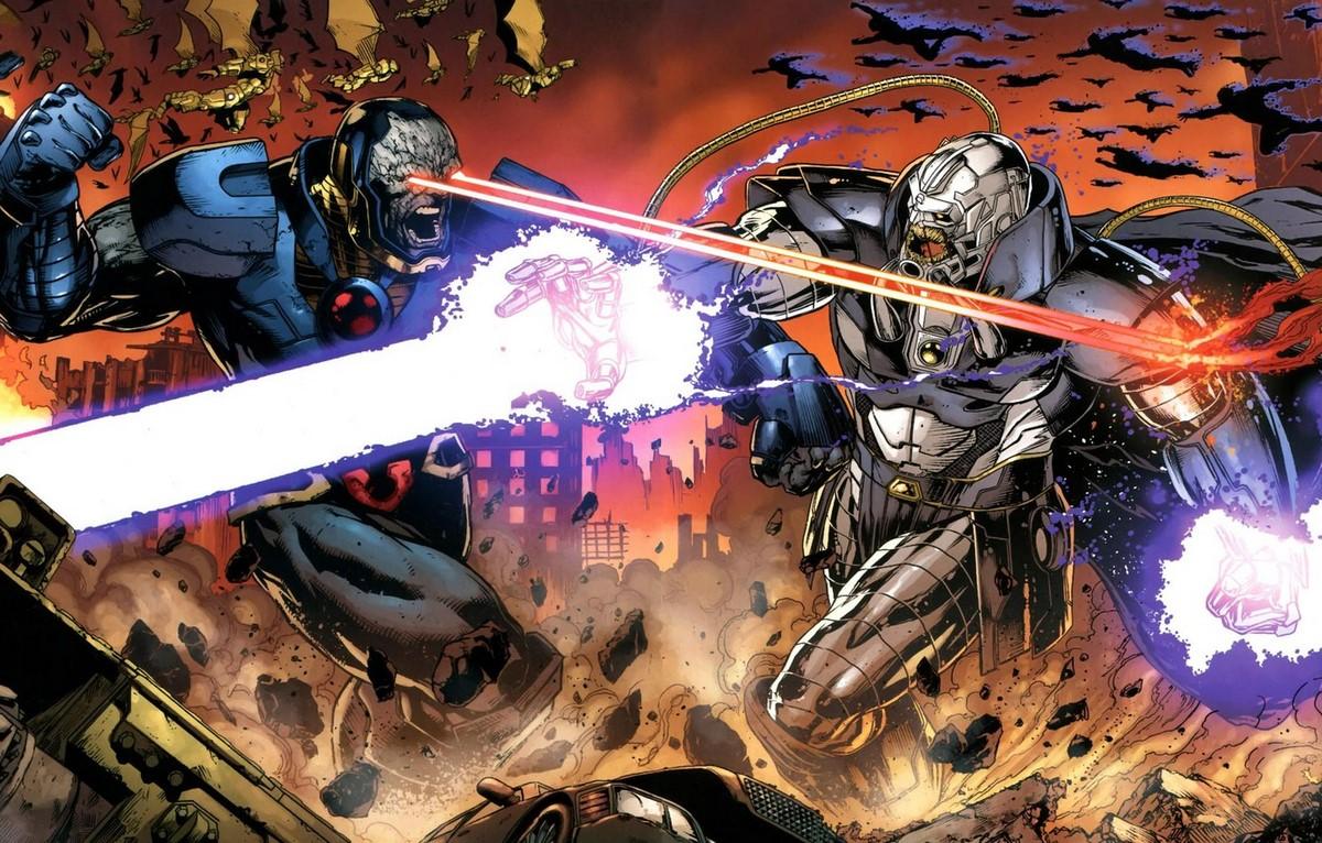 مبارزه آنتی مانیتور (Anti-Monitor) و دارکساید؛ دو موجود بسیار قدرتمند دنیای کمیکهای دیسی