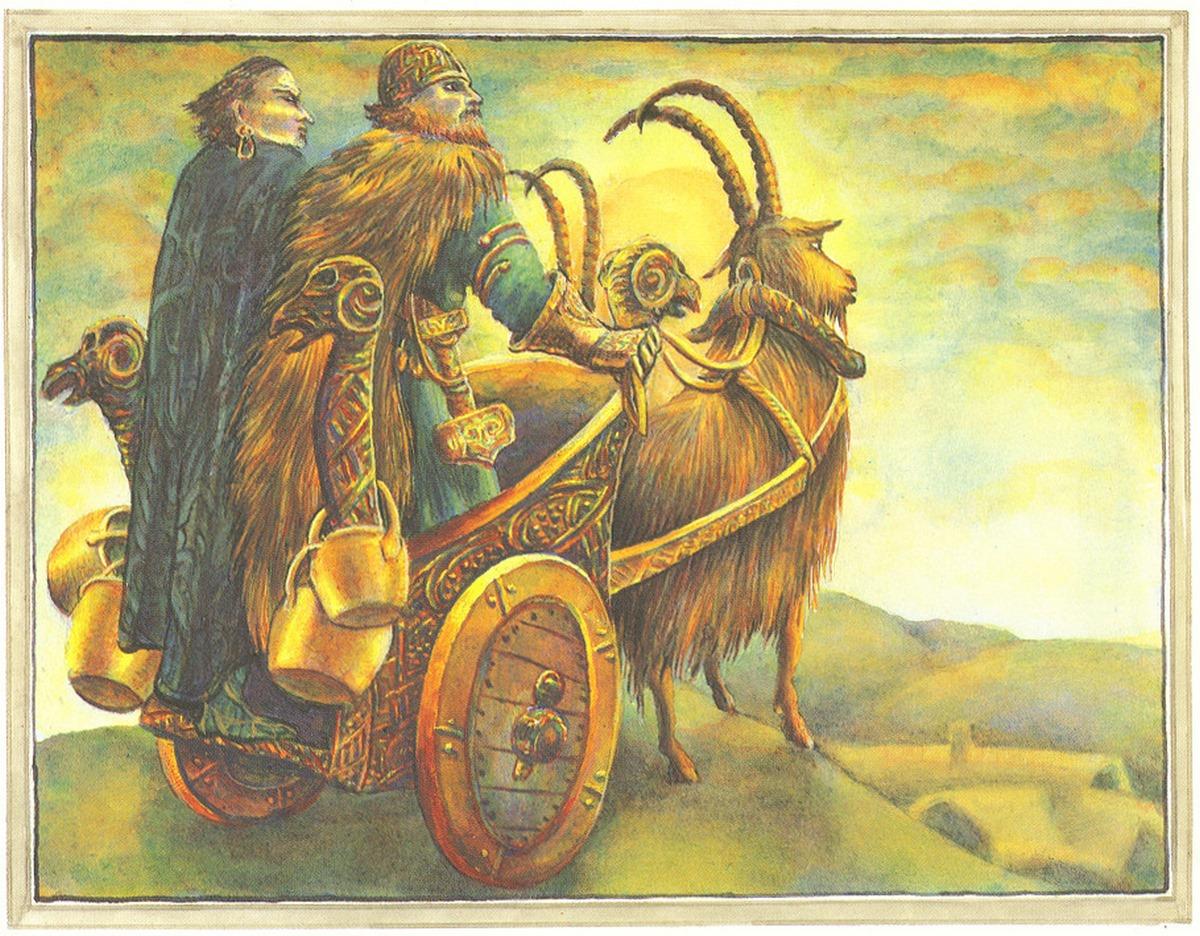 ثور و لوکی، همراهانی در سفر - تفاوت ثور اساطیری با ثور مارول