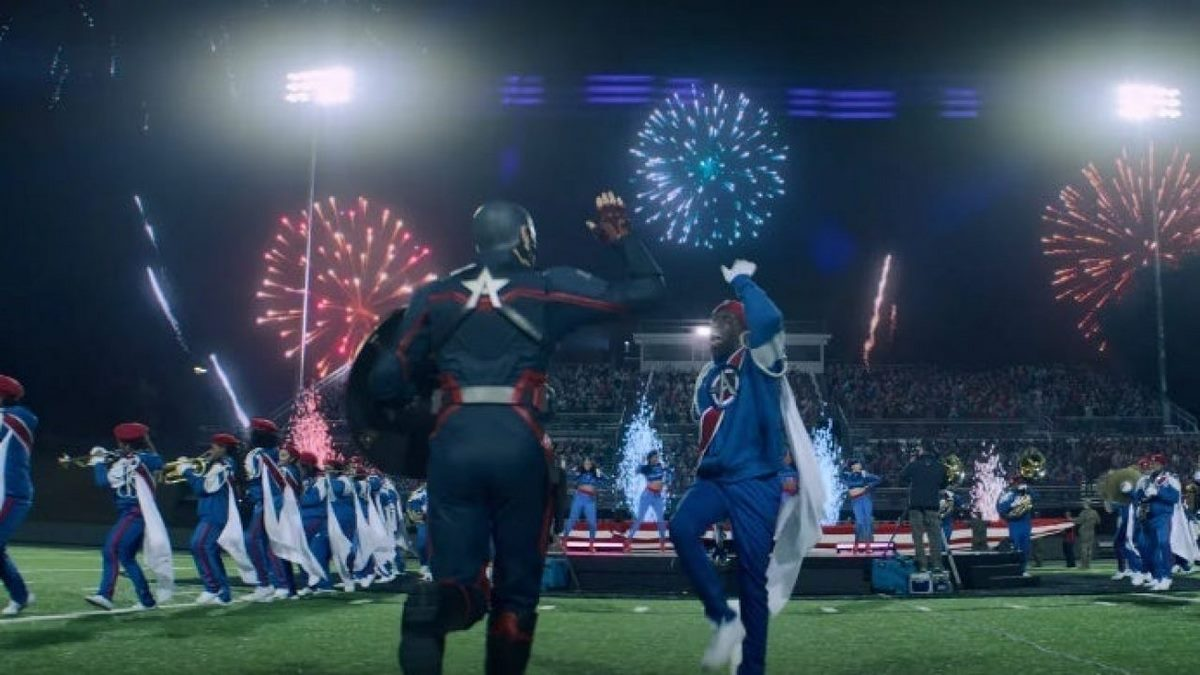 نمایی از مأمور آمریکا در سریال The Falcon and the Winter Soldier