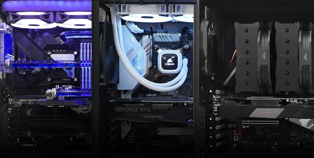 سیستم خنک کننده برای کامپیوتر گیمینگ