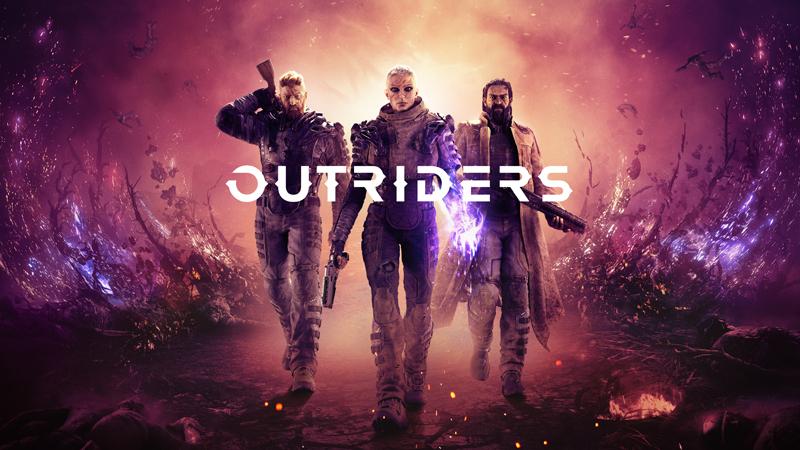پوستر بازی Outriders - راهنمای بیلدها در Outriders