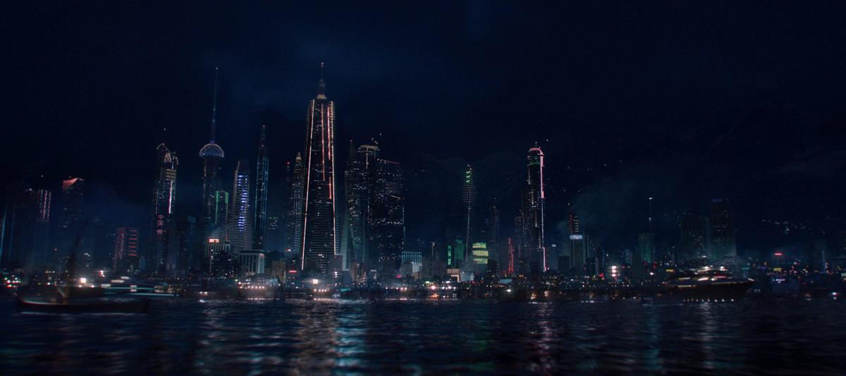 نمایی از شهر مادریپور در سریال The Falcon and The Winter Soldier