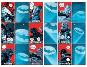 حضور کوتاه کاندیمنت کینگ در شماره ۱۴ کمیک Batman (برای دیدن سایز کامل روی تصویر کلیک کنید)