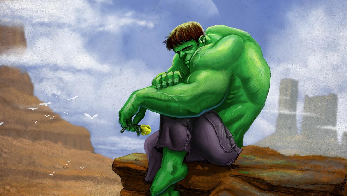 هالک؛ نه یک ویلن سبز و بنفش رنگ، بلکه یک قهرمان سبز و بنفش
