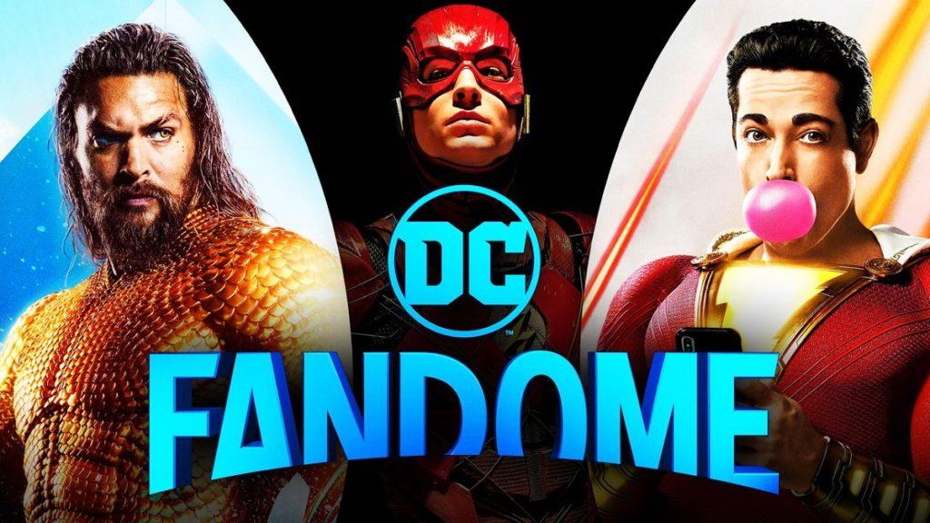 مراسم DC FanDome