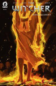 کاور شماره ۱ کمیک The Witcher: Witch's Lament (برای دیدن سایز کامل روی تصویر کلیک کنید)