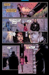 قتل یک زورگیر در شماره ۱ کمیک The Punisher (برای دیدن سایز کامل روی تصویر کلیک کنید)