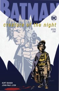 کاور شماره ۱ کمیک Batman: Creature of the Night (برای دیدن سایز کامل روی تصویر کلیک کنید)