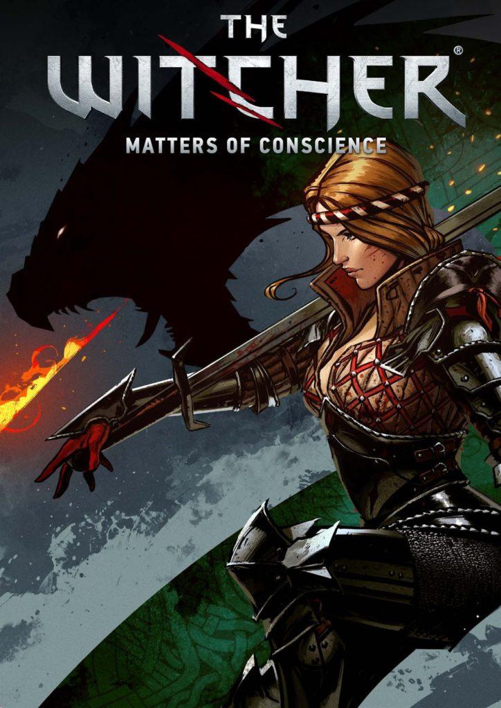 کاور کمیک The Witcher: Matters of Conscience