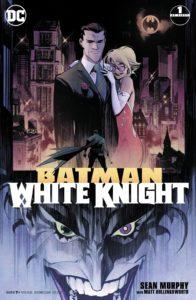 کاور شماره ۱ کمیک Batman: White Knight (برای دیدن سایز کامل روی تصویر کلیک کنید)