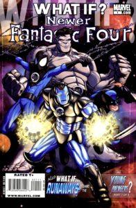 کاور کمیک What If? Newer Fantastic Four (برای دیدن سایز کامل روی تصویر کلیک کنید)