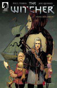 کاور شماره ۱ کمیک The Witcher: Fox Children (برای دیدن سایز کامل روی تصویر کلیک کنید)