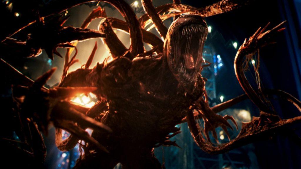 نمایی از کارنیج در فیلم Venom: Let There Be Carnage