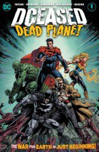 کاور شماره ۱ کمیک DCeased: Dead Planet (برای دیدن سایز کامل روی تصویر کلیک کنید)