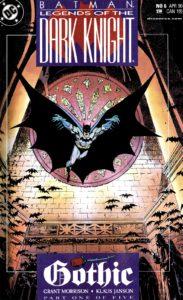 کاور شماره ۶ کمیک Batman: Legends of the Dark Knight (برای دیدن سایز کامل روی تصویر کلیک کنید)