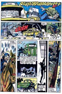قتل به جرم عبور از چراغ قرمز در شماره ۸۲ کمیک Peter Parker, The Spectacular Spider-Man (برای دیدن سایز کامل روی تصویر کلیک کنید)