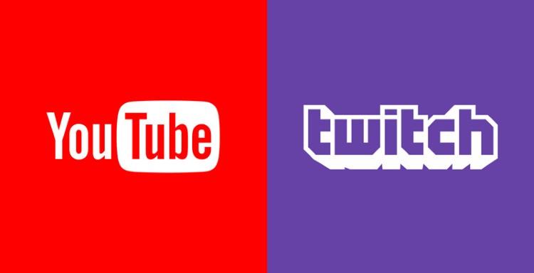 توییچ و یوتیوب