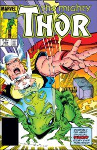 کاور شماره ۳۶۴ کمیک Thor (برای دیدن سایز کامل روی تصویر کلیک کنید)