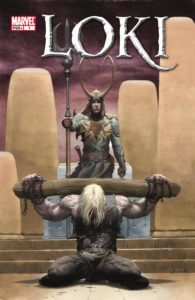 کاور شماره ۱ کمیک Loki (برای دیدن سایز کامل روی تصویر کلیک کنید)