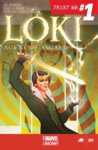 کاور شماره ۱ کمیک Loki: Agent of Asgard (برای دیدن سایز کامل روی تصویر کلیک کنید)