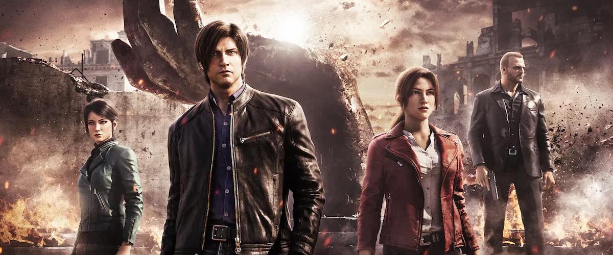 ویدیو جدیدی از انیمیشن Resident Evil: Infinite Darkness منتشر شد