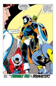 تسک مستر در شماره ۱۹۵ کمیک The Avengers (برای دیدن سایز کامل روی تصویر کلیک کنید)