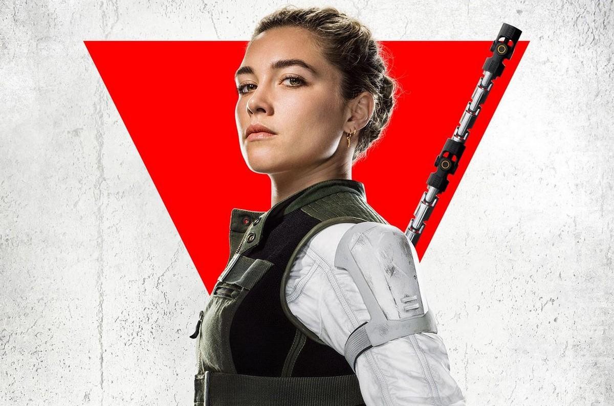 یلنا بلووا در فیلم Black Widow با بازی فلورنس پیو